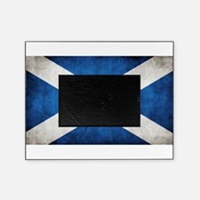 antiqued scottish flag Picture Frame