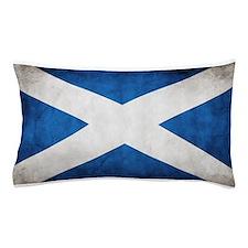 antiqued scottish flag Pillow Case