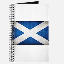 antiqued scottish flag Journal