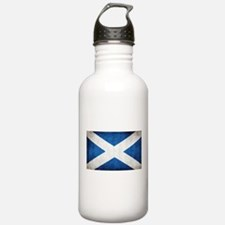 antiqued scottish flag Water Bottle