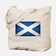 antiqued scottish flag Tote Bag