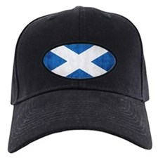 antiqued scottish flag Baseball Hat