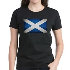 antiqued scottish flag T-Shirt