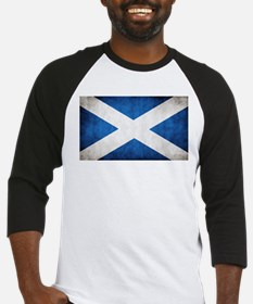 antiqued scottish flag Baseball Jersey