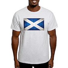 antiqued scottish flag T-Shirt