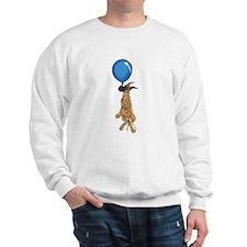 C Brindle Balloon Pup Sweatshirt