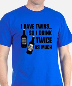 Dad of twins t shirts shirts tees custom dad of twins for How much is a custom t shirt