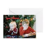 Don't Shout...Santa Greeting Cards (Pk of 10)