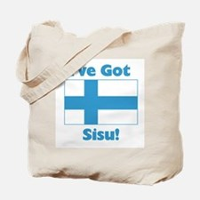 Finnish Sisu Tote Bag