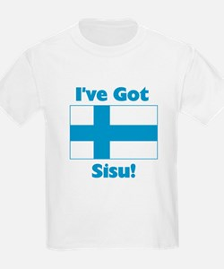 Finnish Sisu Kids T-Shirt