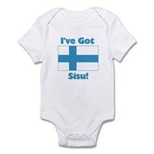 Finnish Sisu Infant Bodysuit