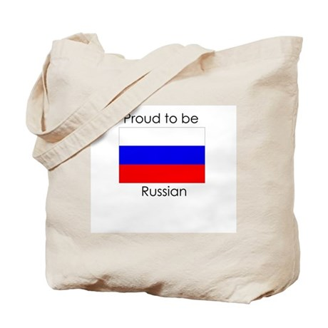 Proud to be Russian Tote Bag