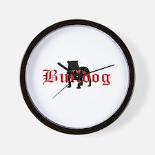 OE Bulldog Type Wall Clock