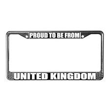 United Kingdom License Plate Frame