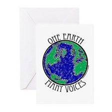 One Earth Greeting Cards (Pk of 10)