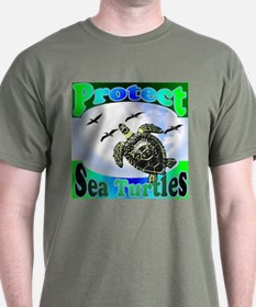 Protect Sea Turtles gifts T-Shirt