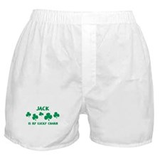 Jack is my lucky charm Boxer Shorts