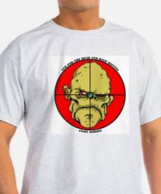 Angry Zombies-GRAMPS Ash Grey T-Shirt