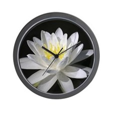 Water Lilly - Wall Clock