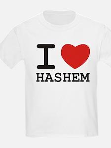 I Heart Hashem Kids T-Shirt