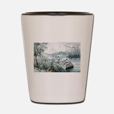 Floating down to market - 1870 Shot Glass