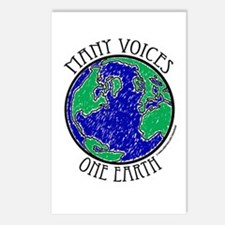One Earth #2 Postcards (Package of 8)