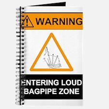 Warning! Entering Loud Bagpip Journal