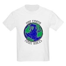 One Earth Kids T-Shirt