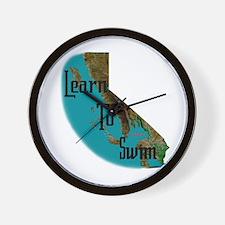 Learn to Swim Wall Clock