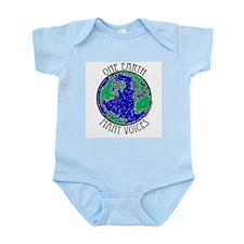 One Earth Infant Bodysuit