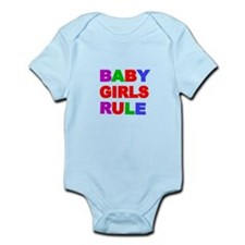 BABY GIRLS RULE Body Suit