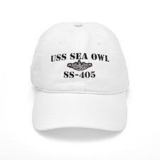 USS SEA OWL Baseball Cap