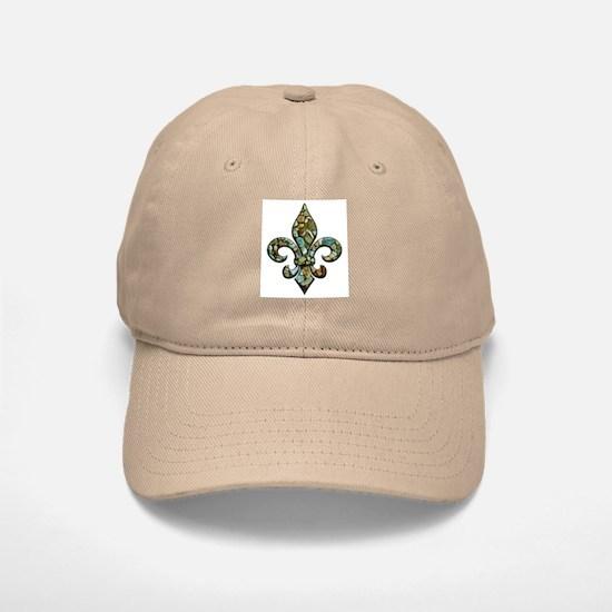 New Orleans Rocks Fleur Baseball Baseball Cap