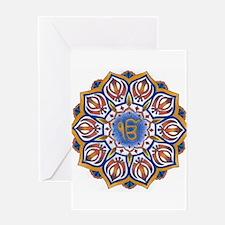 Ek Onkar Mandala Greeting Cards