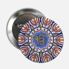 "Ek Onkar Mandala 2.25"" Button"