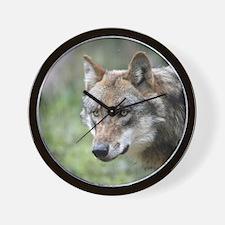 Wolf 001 Wall Clock