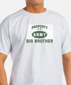 Property of my Big Brother Ash Grey T-Shirt
