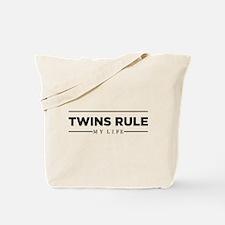TWINS RULE My Life Tote Bag