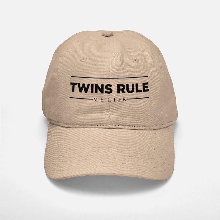TWINS RULE My Life Baseball Baseball Baseball Cap