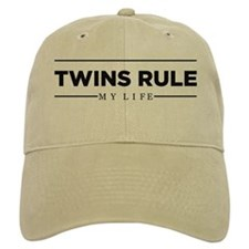 TWINS RULE My Life Baseball Baseball Cap
