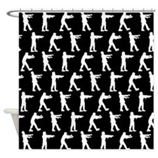 'Zombies' Shower Curtain