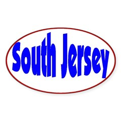 South Jersey Oval Decal