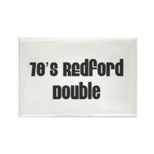 70's Redford Double Rectangle Magnet