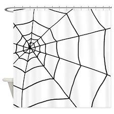 'Cobweb' Shower Curtain