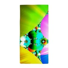 Crystal Sunrise Abstract Beach Towel