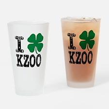 Kalamazoo Irish Drinking Glass