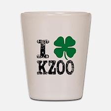 Kalamazoo Irish Shot Glass
