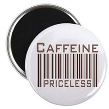 Caffeine Priceless Magnet