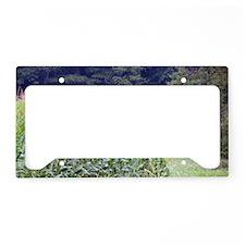 CORNFIELD SHACK License Plate Holder