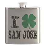San Jose Irish Flask